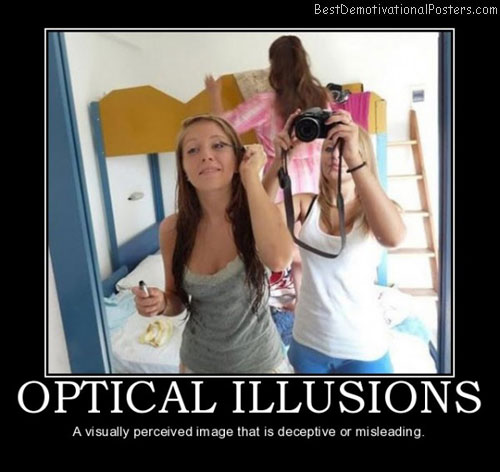 Optical Illusions image Best Demotivational Posters