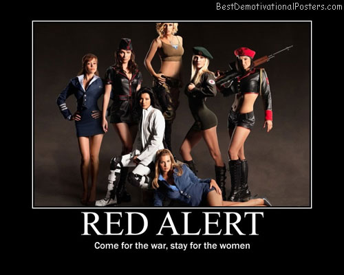 Red Alert Best Demotivational Posters
