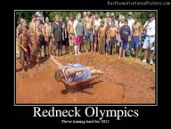 Redneck Olympics Training
