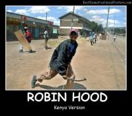 Robin Hood in Kenia
