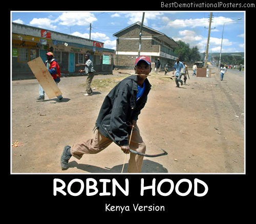Robin Hood Best Demotivational Posters