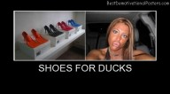 Shoes For Ducks Best Demotivational Posters