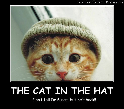 The Cat In The Hat Best Demotivational Posters