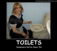 Toilets Cleaning