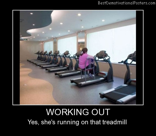 exercise demotivational posters images