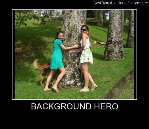 Background Hero Best Demotivational Posters