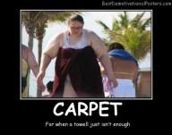 Carpet Towel Best Demotivational Posters