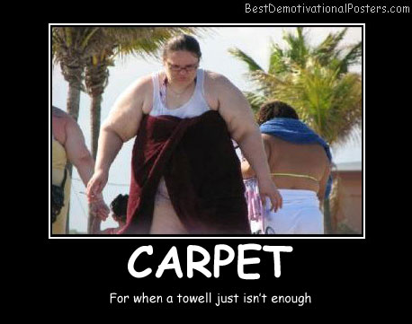 Carpet Towel Best Demotivational Posters