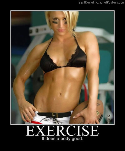 Exercise Best Demotivational Posters