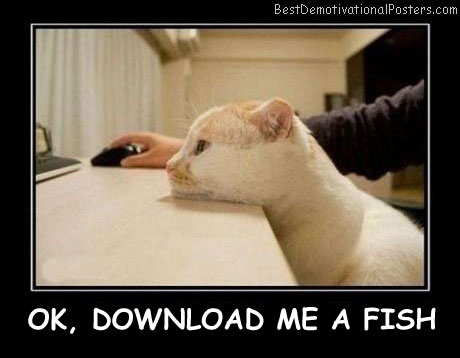 OK, Download Me A Fish Best Demotivational Posters