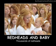 Redheads And Baby