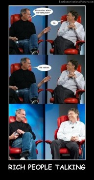 Rich People Talking