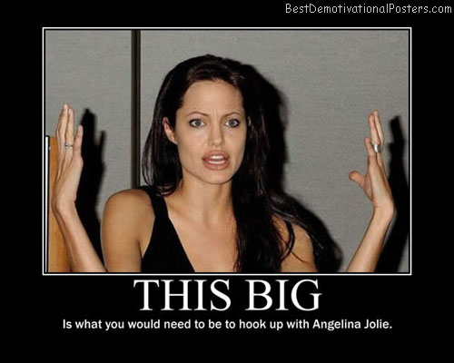This Big Angelina Jolie