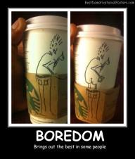 Boredom Cups