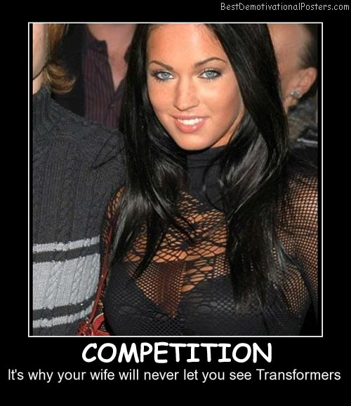 Competition Transformers Best Demotivational Posters