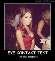 Eye Contact Test