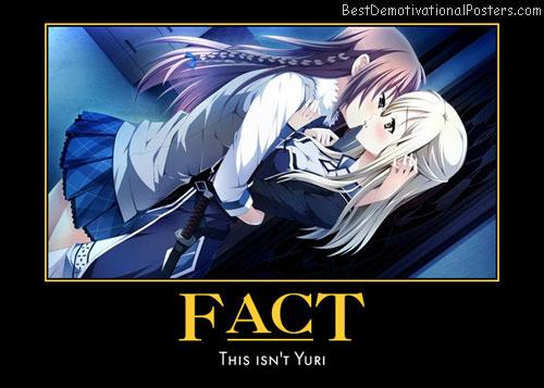 Fact Yuri anime