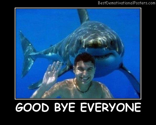 Good Bye Everyone Best Demotivational Posters