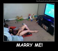 Marry Me Best Demotivational Posters
