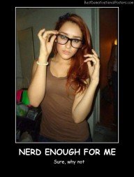 Nerd Enough For Me?