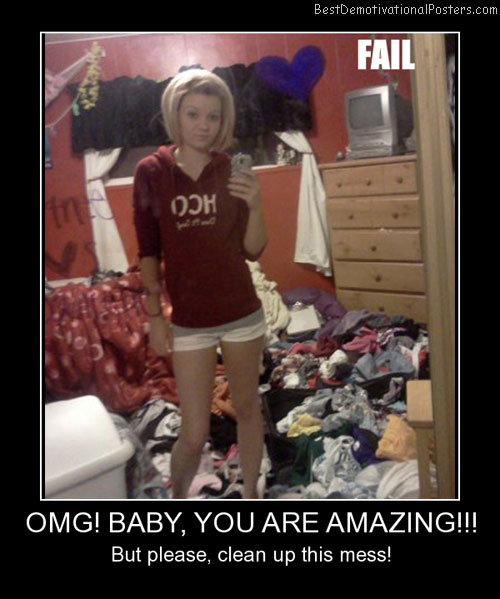 OMG Baby, You Are Amazing Best Demotivational Posters