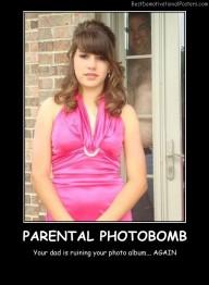 Parental Photobomb