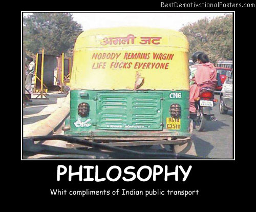 Philosophy Whit Compliments Best Demotivational Posters