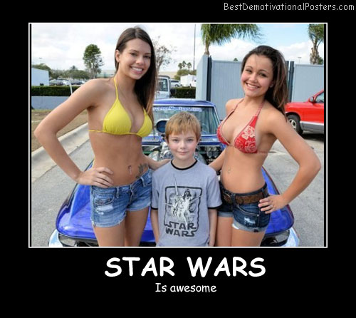 Star Wars T-Shirt Best Demotivational Posters
