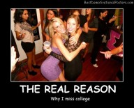 Why I Miss College