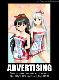 Advertising Dresses anime