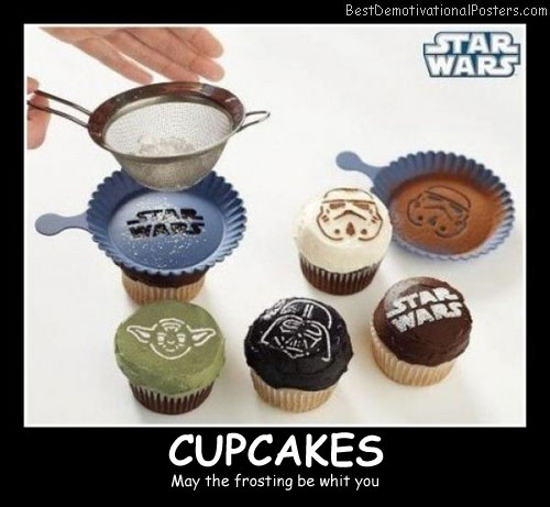 Cupcakes Best Demotivational Posters funny