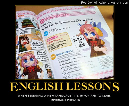 English Lessons anime