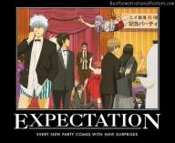 Expectation anime