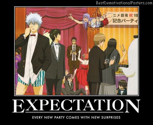 Expectation anime