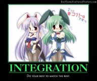 Integration anime