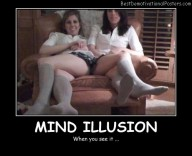 Mind Illusion Best Demotivational Posters