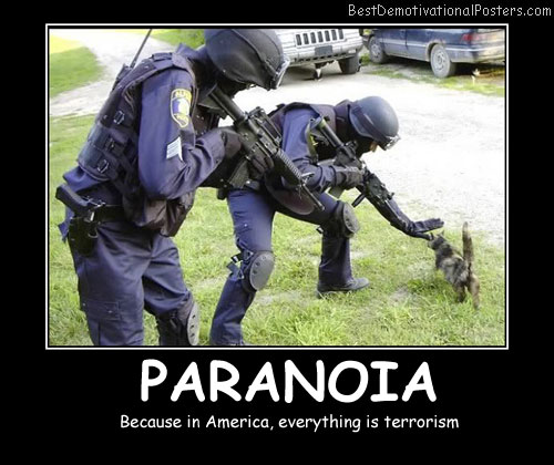Paranoia Best Demotivational Posters