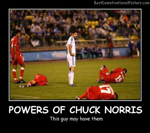 Power Of Chuck Norris Best Demotivational Posters