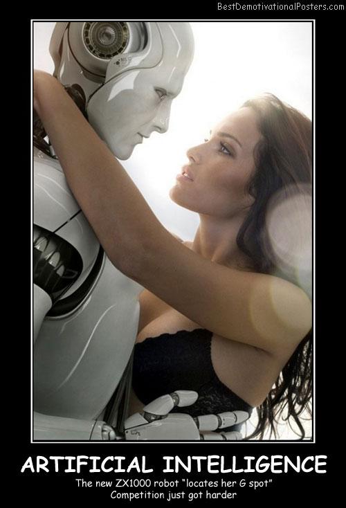 Robots vs Humans Demotivational Posters