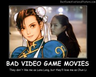 Bad Video Game Movies