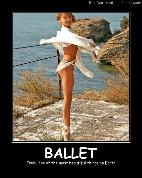 Ballet Best Demotivational Posters
