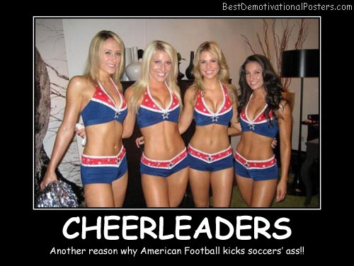 Cheerleaders Best Demotivational Posters