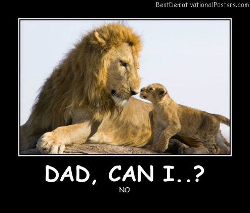 Dad, Can I Best Demotivational Posters funny