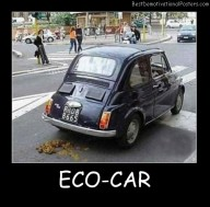 Eco-Car funny Best Demotivational Posters
