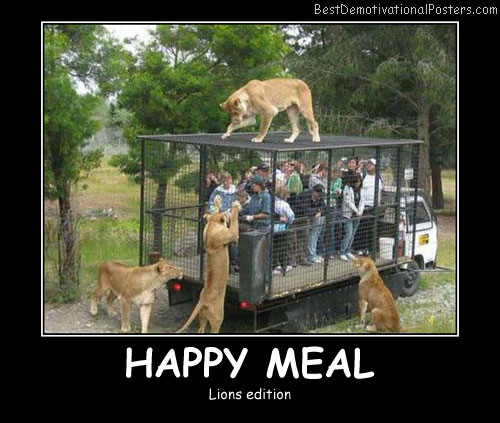 Happy Meal Best Demotivational Posters