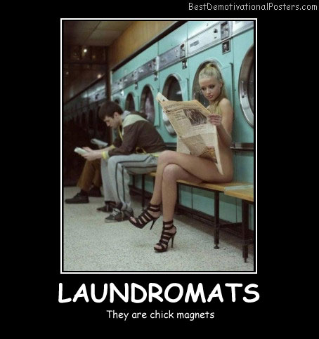 Laundromats Best Demotivational Posters