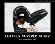 Leather Covered Chair