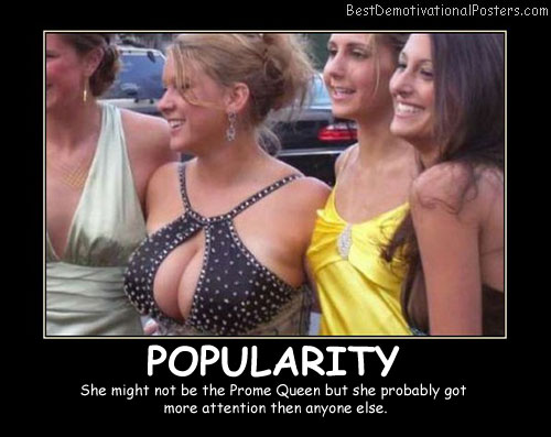 Popularity Best Demotivational Posters