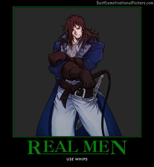 Real Men anime