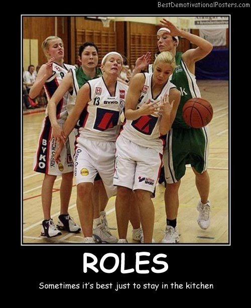 Roles Best Demotivational Posters